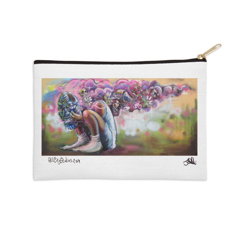 Thought Process Accessories Zip Pouch by All City Emporium's Artist Shop