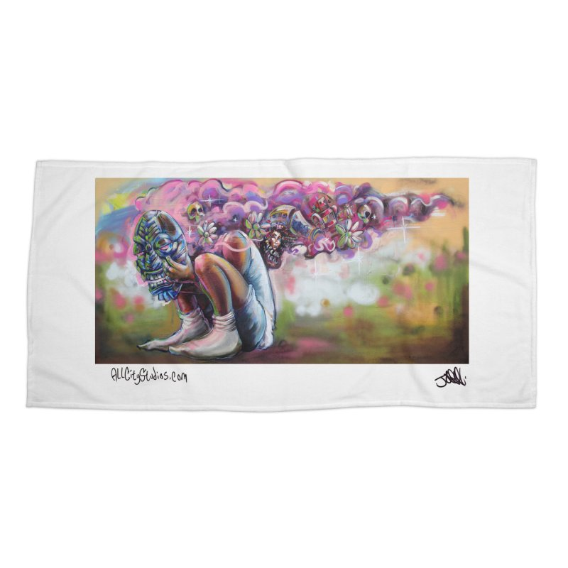 Thought Process Accessories Beach Towel by All City Emporium's Artist Shop