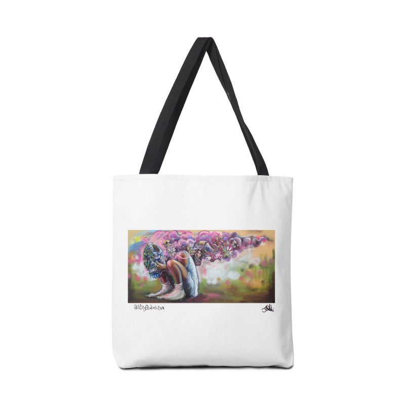 Thought Process Accessories Tote Bag Bag by All City Emporium's Artist Shop