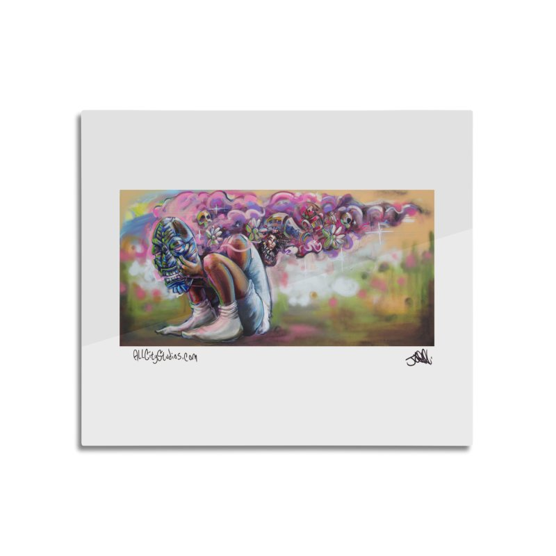 Thought Process Home Mounted Acrylic Print by All City Emporium's Artist Shop