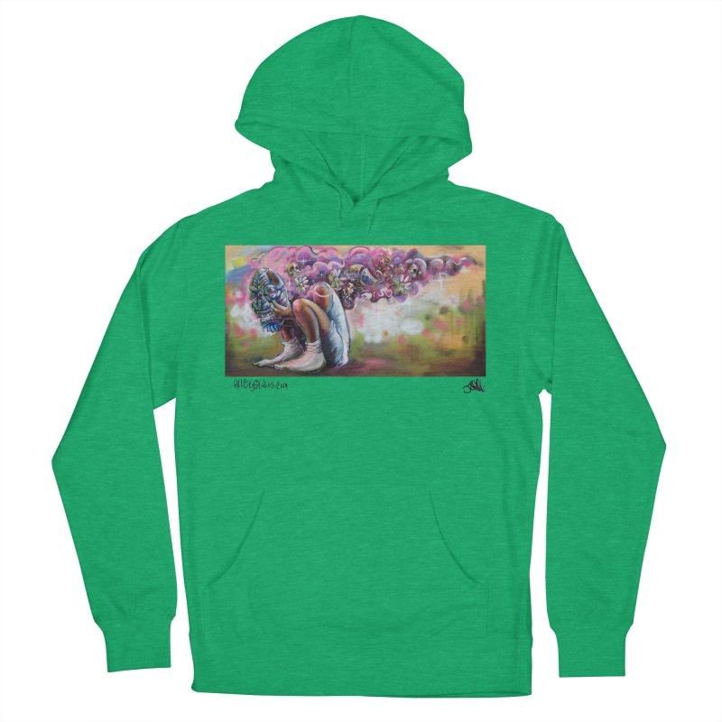 Thought Process Women's French Terry Pullover Hoody by All City Emporium's Artist Shop