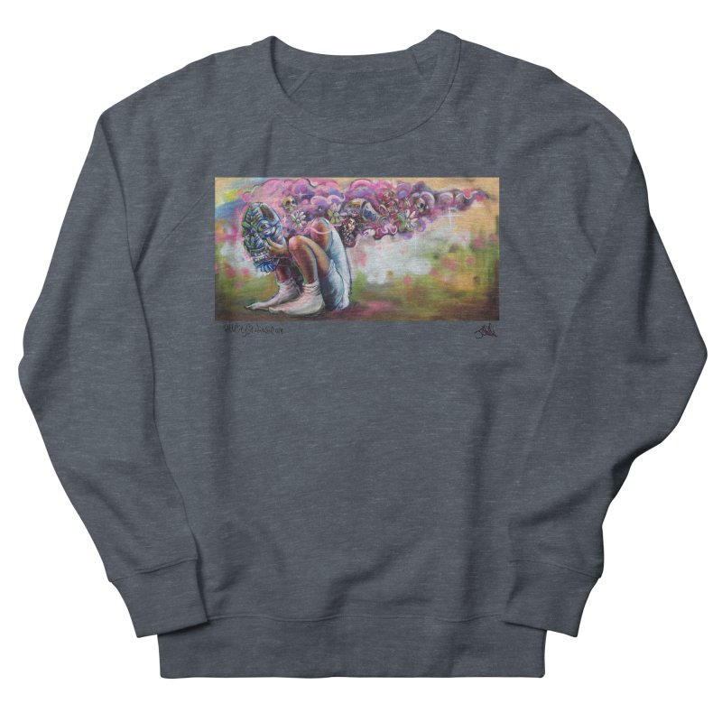 Thought Process Women's French Terry Sweatshirt by All City Emporium's Artist Shop