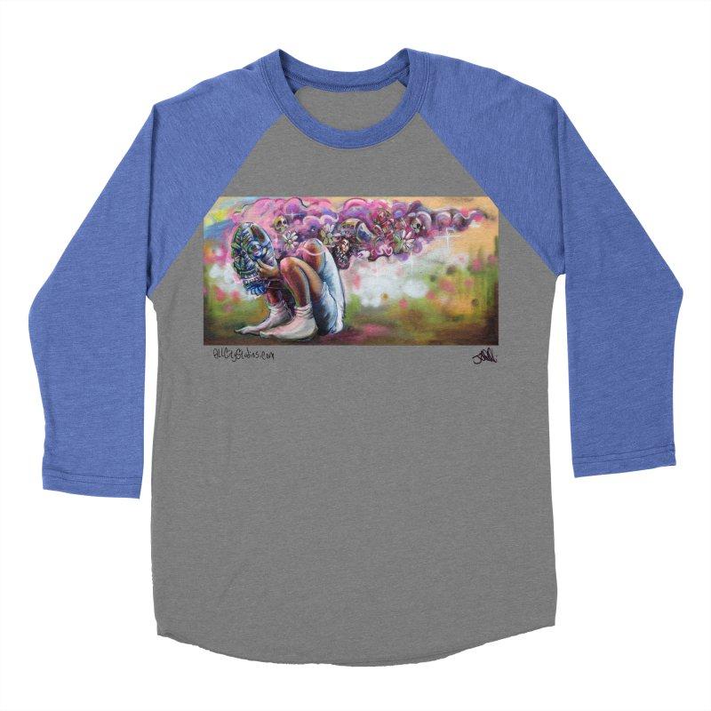 Thought Process Women's Baseball Triblend Longsleeve T-Shirt by All City Emporium's Artist Shop