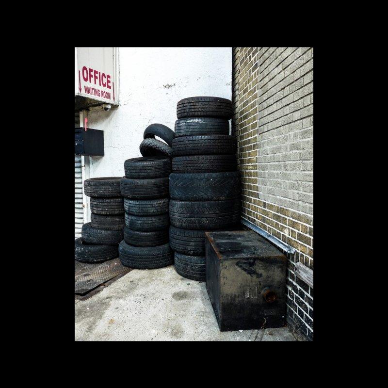 Tire Pile Accessories Mug by Allen Williams