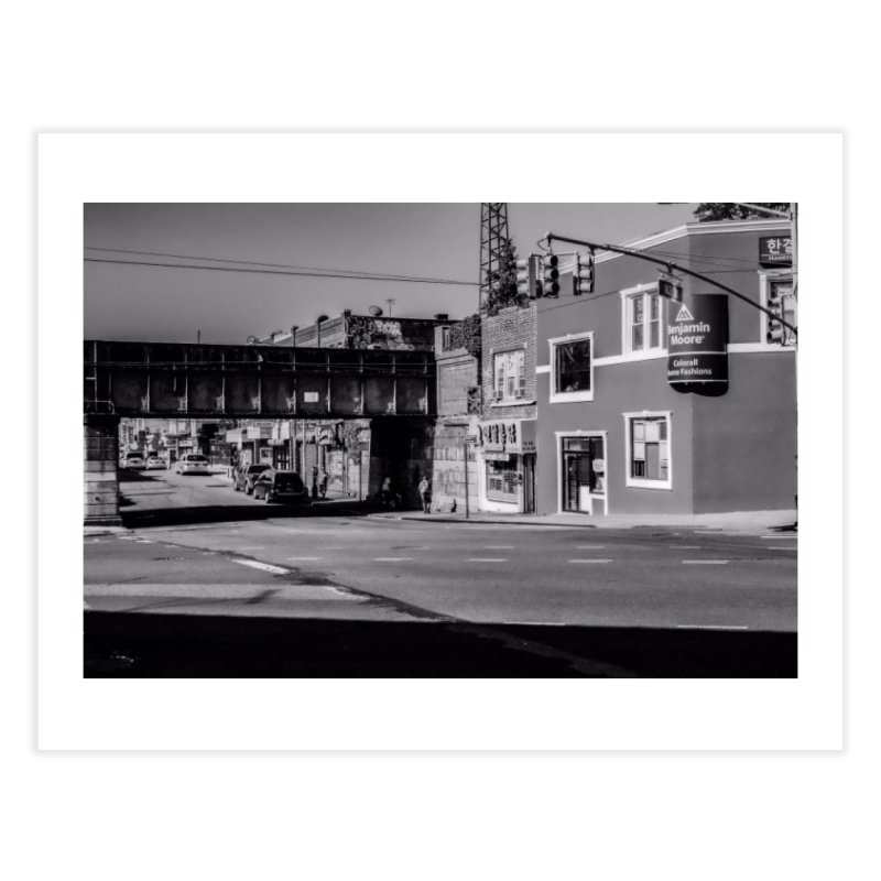 The Waiting Station Home Fine Art Print by Allen Williams