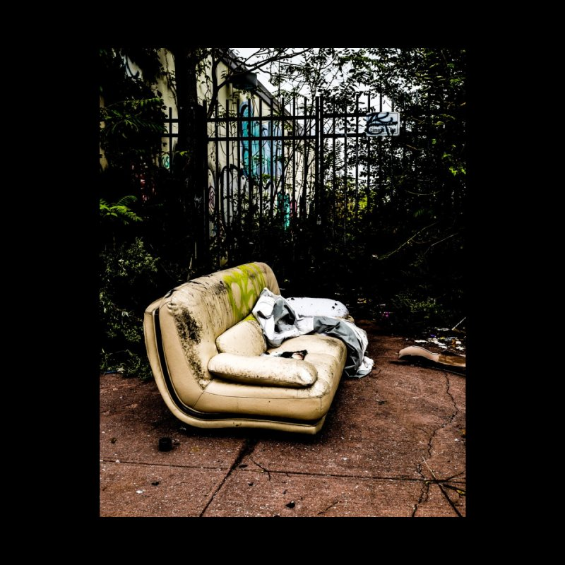 Dirty Couch Home Fine Art Print by Allen Williams