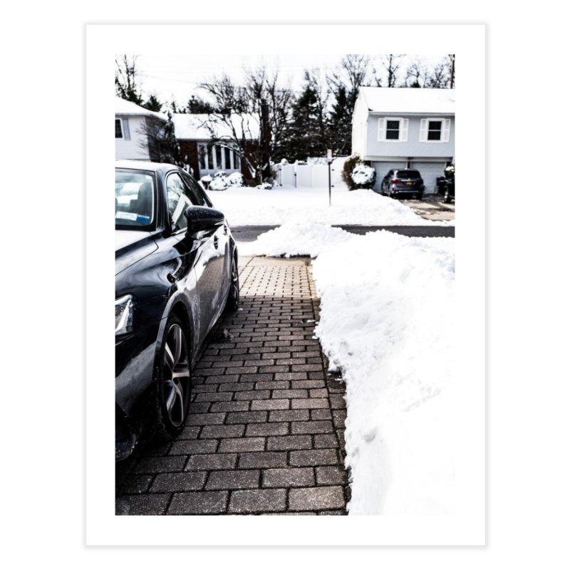 Winter Path Home Fine Art Print by Allen Williams
