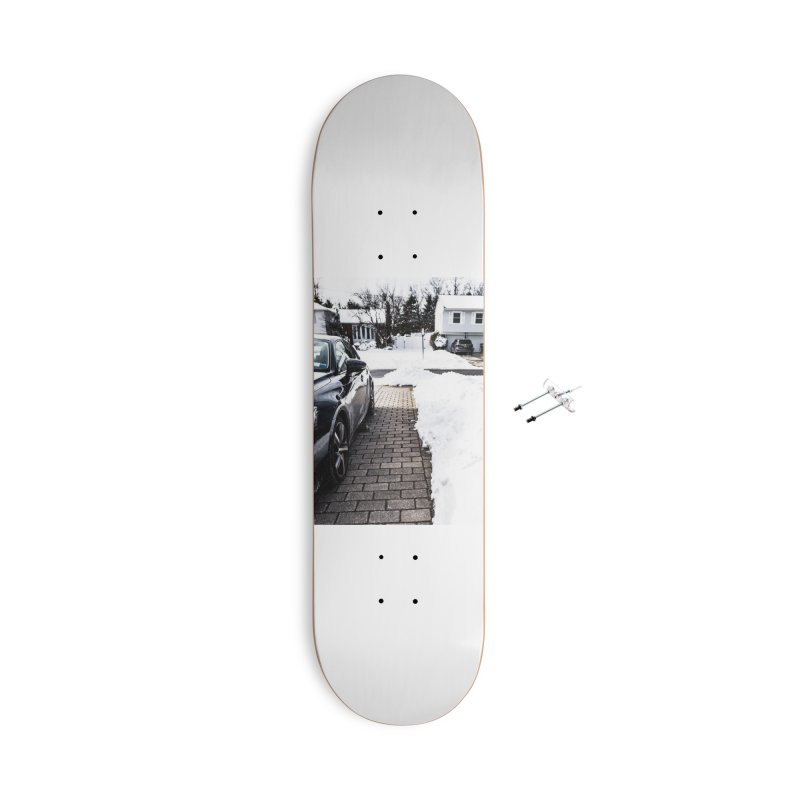 Winter Path Accessories Skateboard by Allen Williams