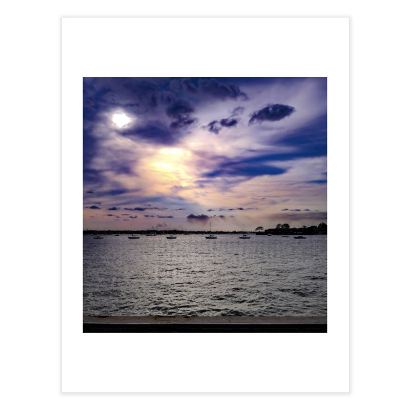 Eyes In The Sky Home Fine Art Print by Allen Williams