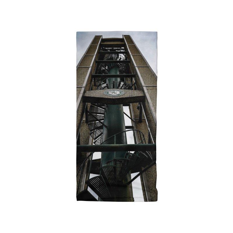 Clock Tower Accessories Neck Gaiter by Allen Williams