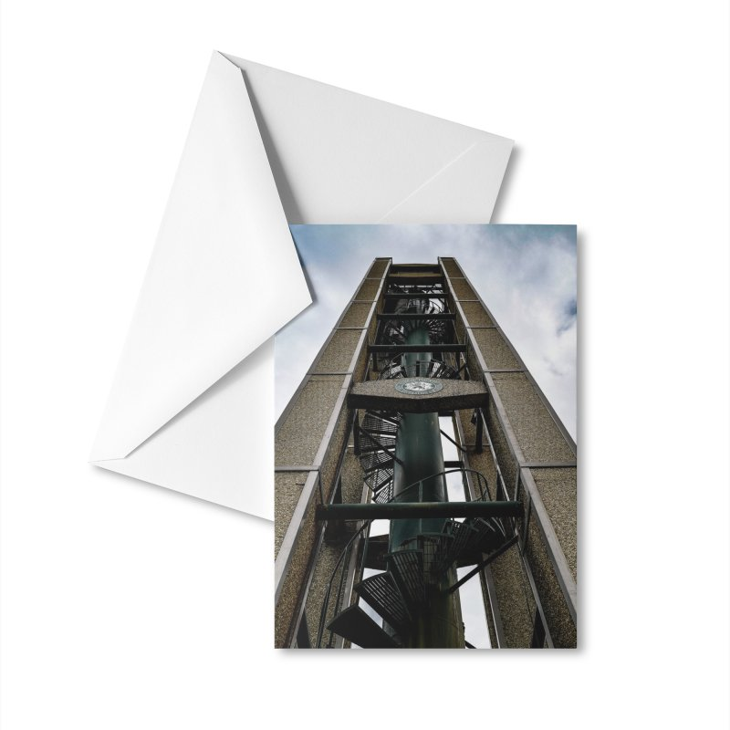 Clock Tower Accessories Greeting Card by Allen Williams