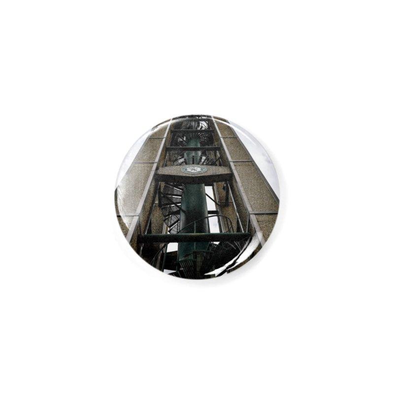 Clock Tower Accessories Button by Allen Williams