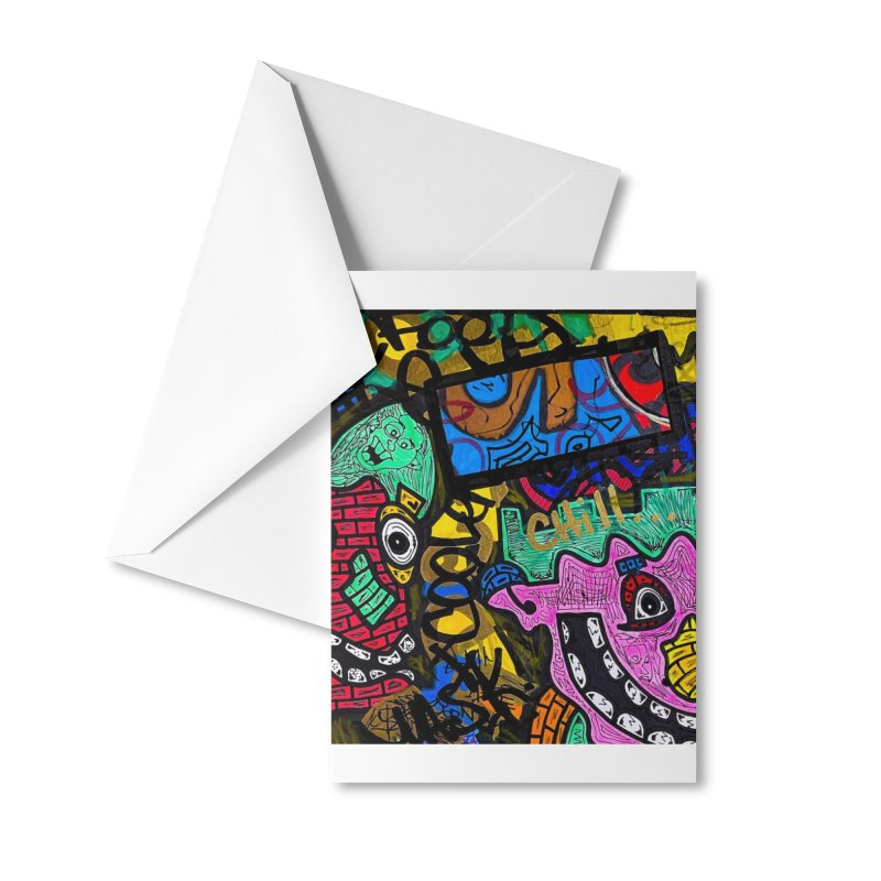Chill Dude Accessories Greeting Card by Allen Williams