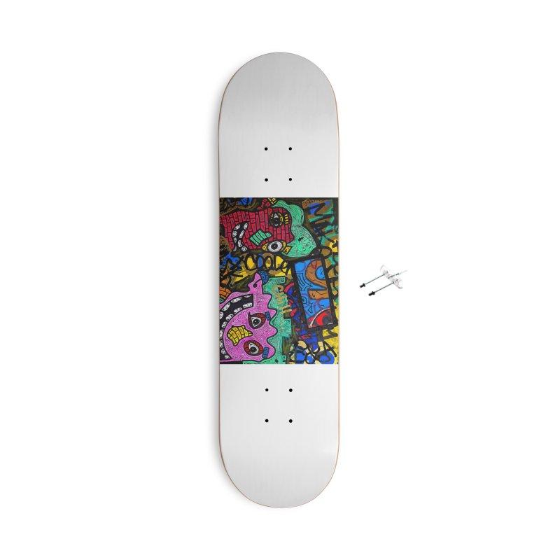 Chill Dude Accessories Skateboard by Allen Williams