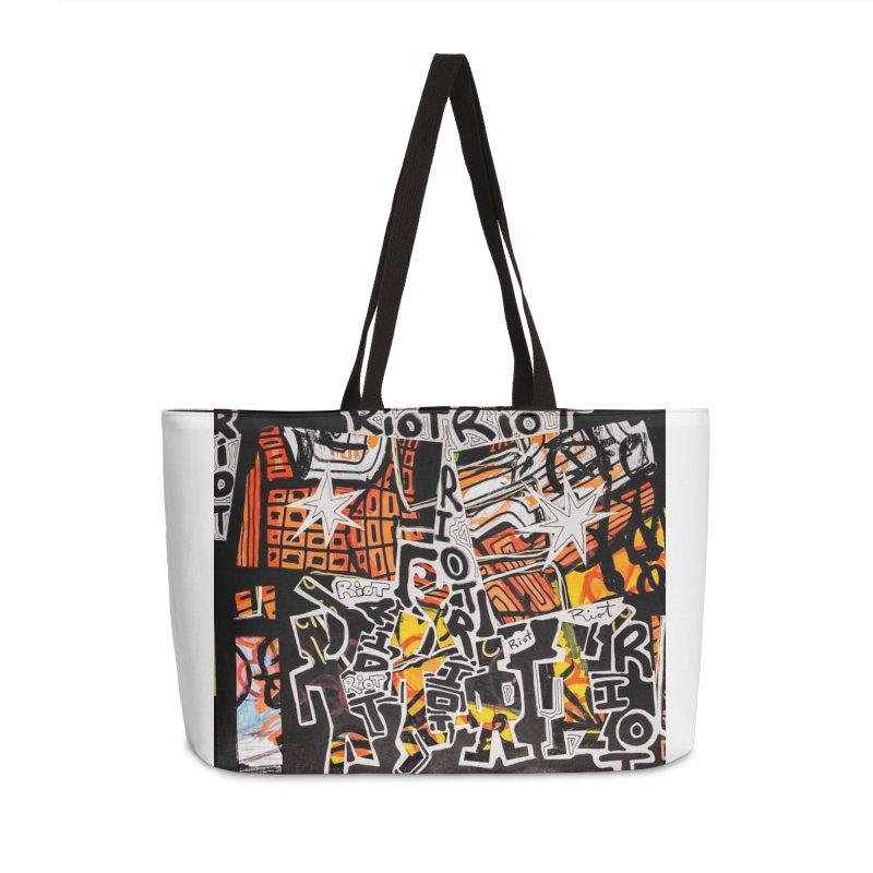 Watch Out Accessories Bag by Allen Williams