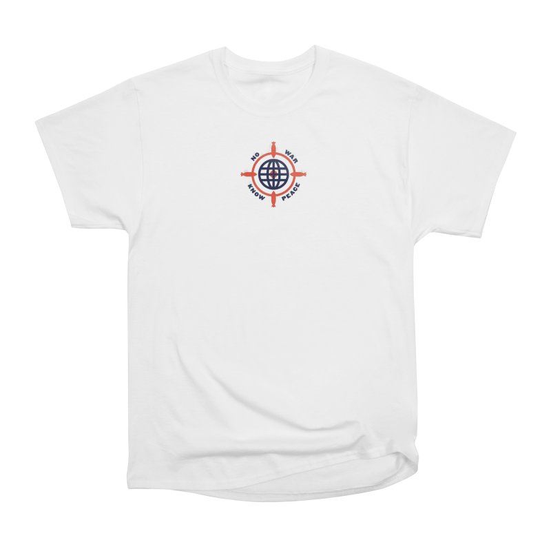 No War, Know Peace Men's Heavyweight T-Shirt by Alleviate Apparel & Goods