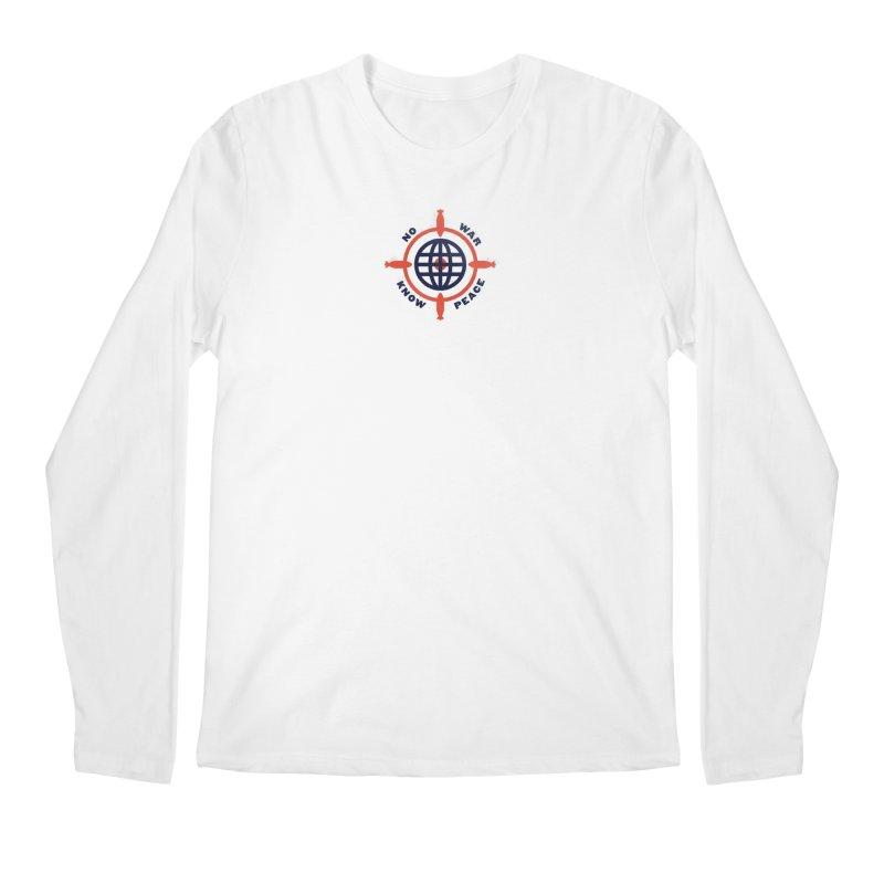 No War, Know Peace Men's Regular Longsleeve T-Shirt by Alleviate Apparel & Goods