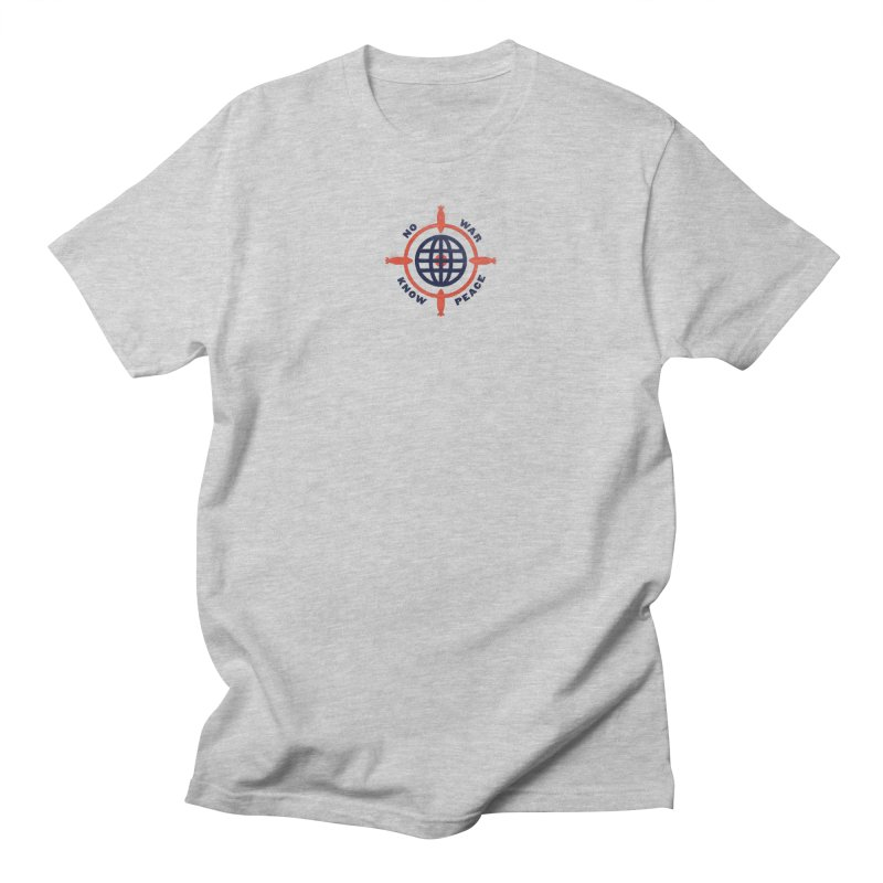 No War, Know Peace Men's T-Shirt by Alleviate Apparel & Goods