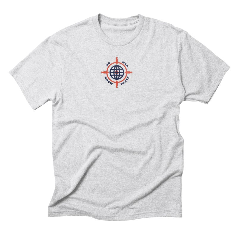 No War, Know Peace Men's Triblend T-Shirt by Alleviate Apparel & Goods