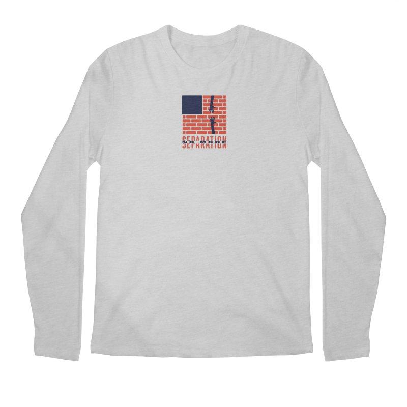 No More Separation Men's Regular Longsleeve T-Shirt by Alleviate Apparel & Goods