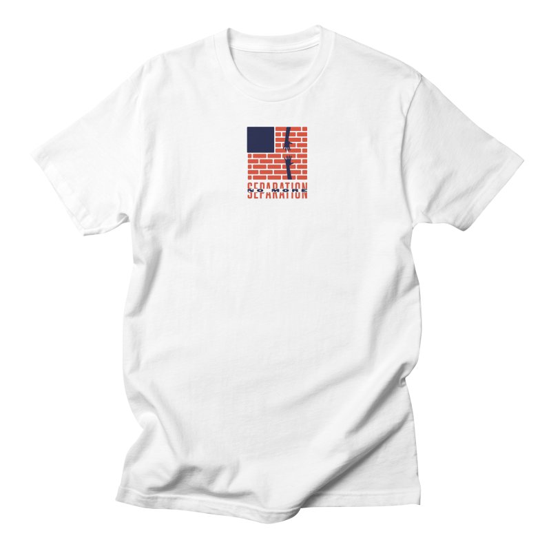 No More Separation Men's Regular T-Shirt by Alleviate Apparel & Goods