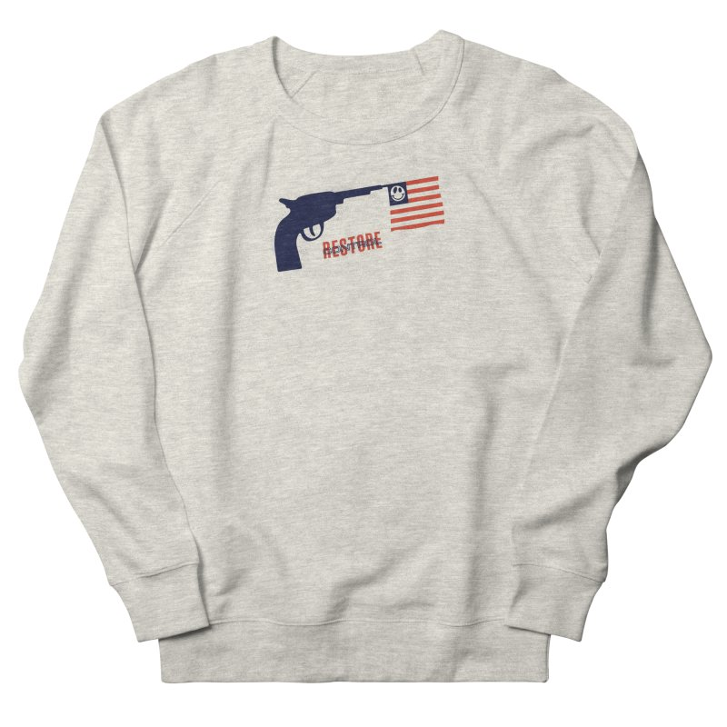 Restore Control Men's Sweatshirt by Alleviate Apparel & Goods