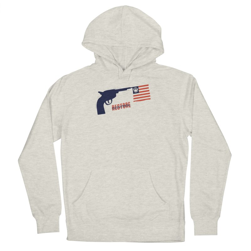 Restore Control Men's French Terry Pullover Hoody by Alleviate Apparel & Goods