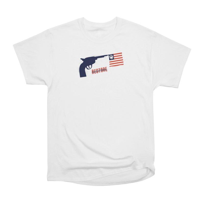 Restore Control Women's Heavyweight Unisex T-Shirt by Alleviate Apparel & Goods