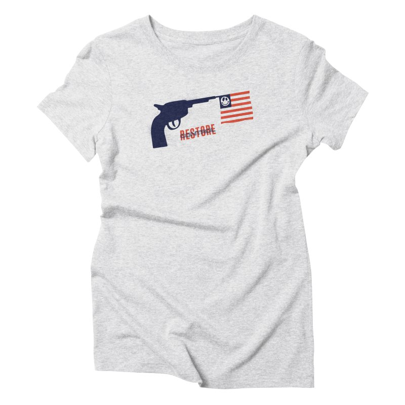 Restore Control Women's Triblend T-Shirt by Alleviate Apparel & Goods