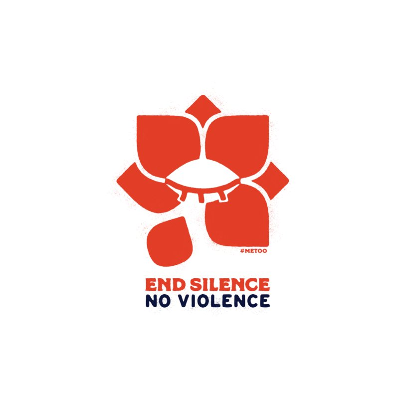 No Violence in  by Alleviate Apparel & Goods