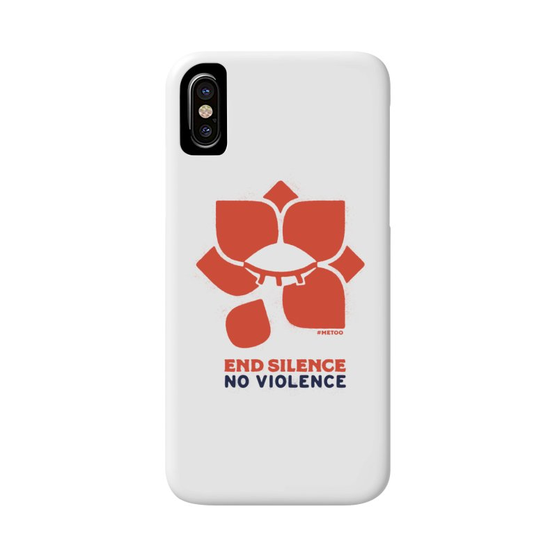 End Silence, No Violence Accessories Phone Case by Alleviate Apparel & Goods