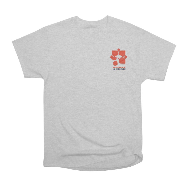 End Silence, No Violence Men's T-Shirt by Alleviate Apparel & Goods