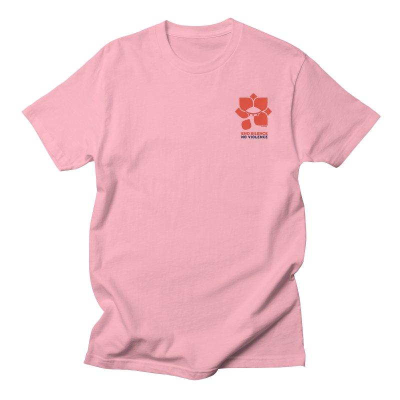 End Silence, No Violence Women's Regular Unisex T-Shirt by Alleviate Apparel & Goods
