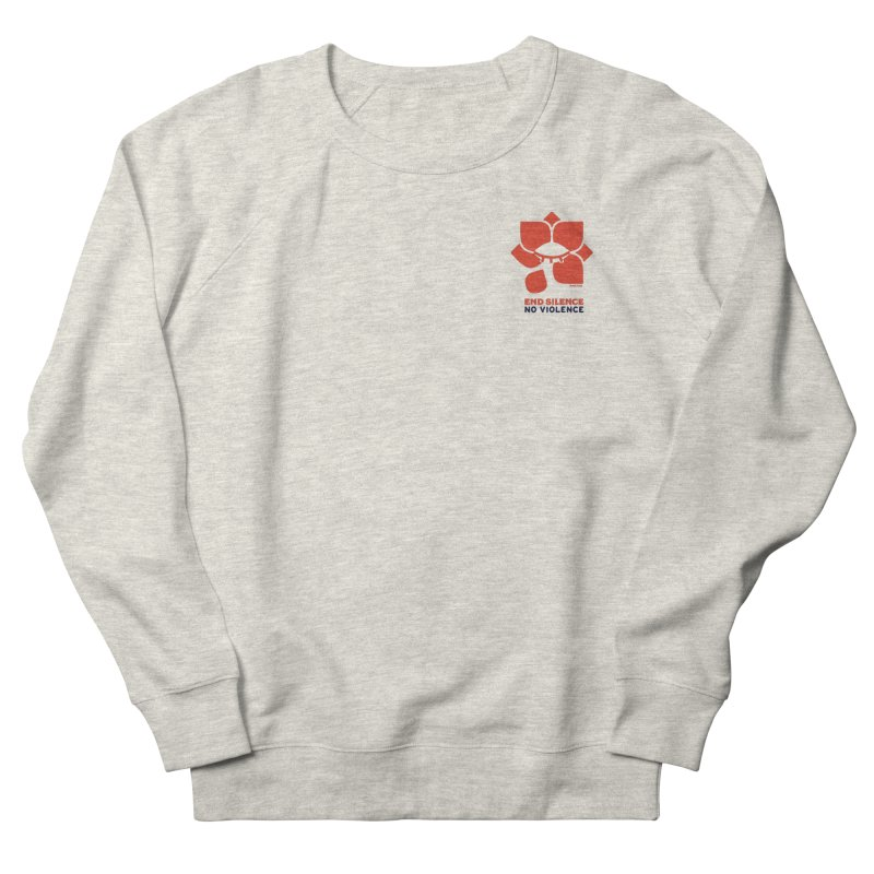 End Silence, No Violence Women's Sweatshirt by Alleviate Apparel & Goods