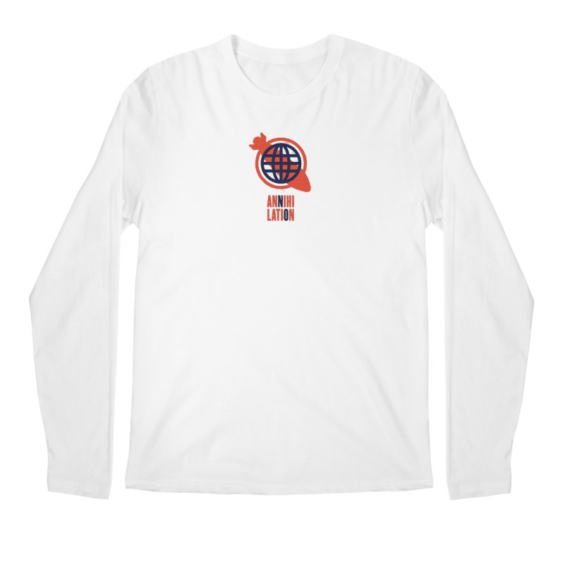 No Annihilation Men's Regular Longsleeve T-Shirt by Alleviate Apparel & Goods