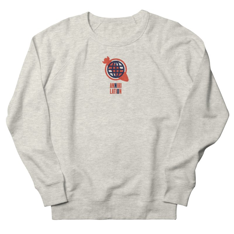 No Annihilation Men's French Terry Sweatshirt by Alleviate Apparel & Goods