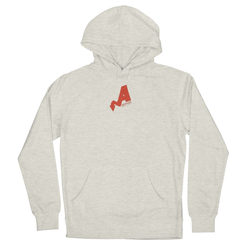 Alleviate Women's French Terry Pullover Hoody by Alleviate Apparel & Goods