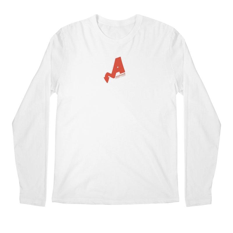 Alleviate Men's Regular Longsleeve T-Shirt by Alleviate Apparel & Goods