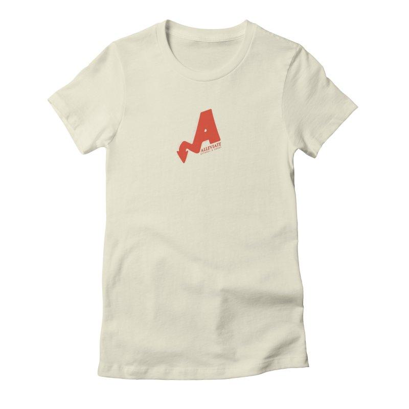 Alleviate Women's T-Shirt by Alleviate Apparel & Goods