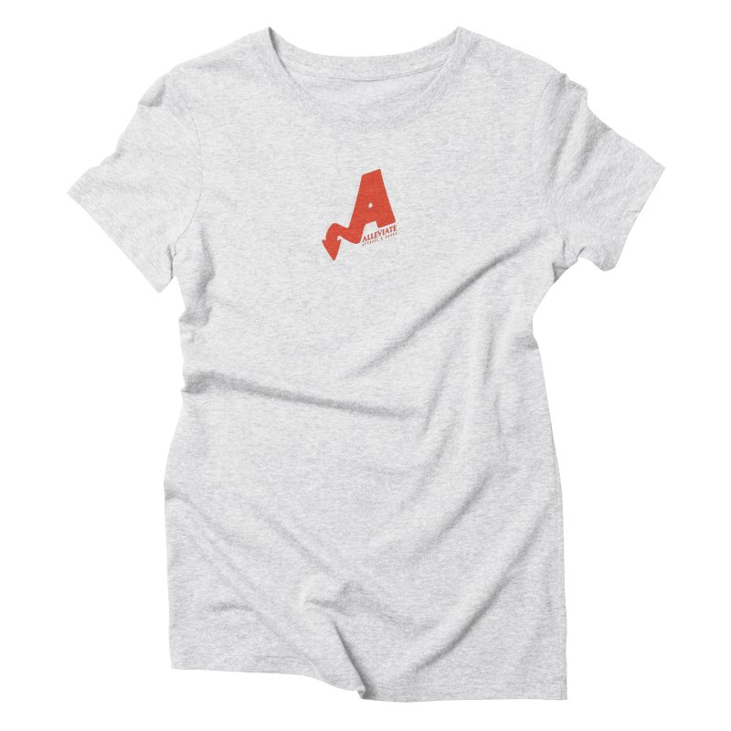 Alleviate Women's Triblend T-Shirt by Alleviate Apparel & Goods