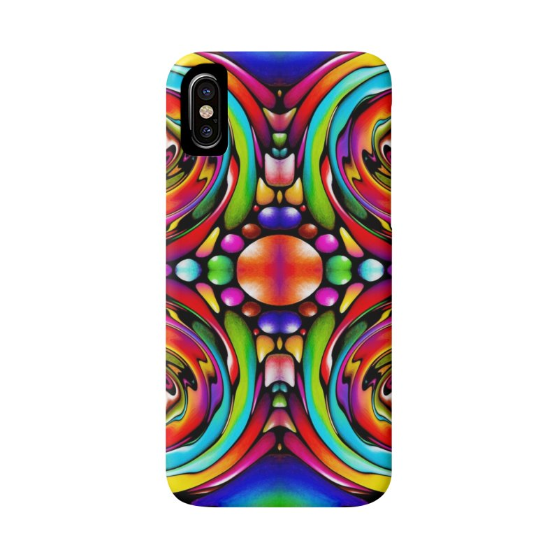Psychedelia Accessories Phone Case by Allison Low Art