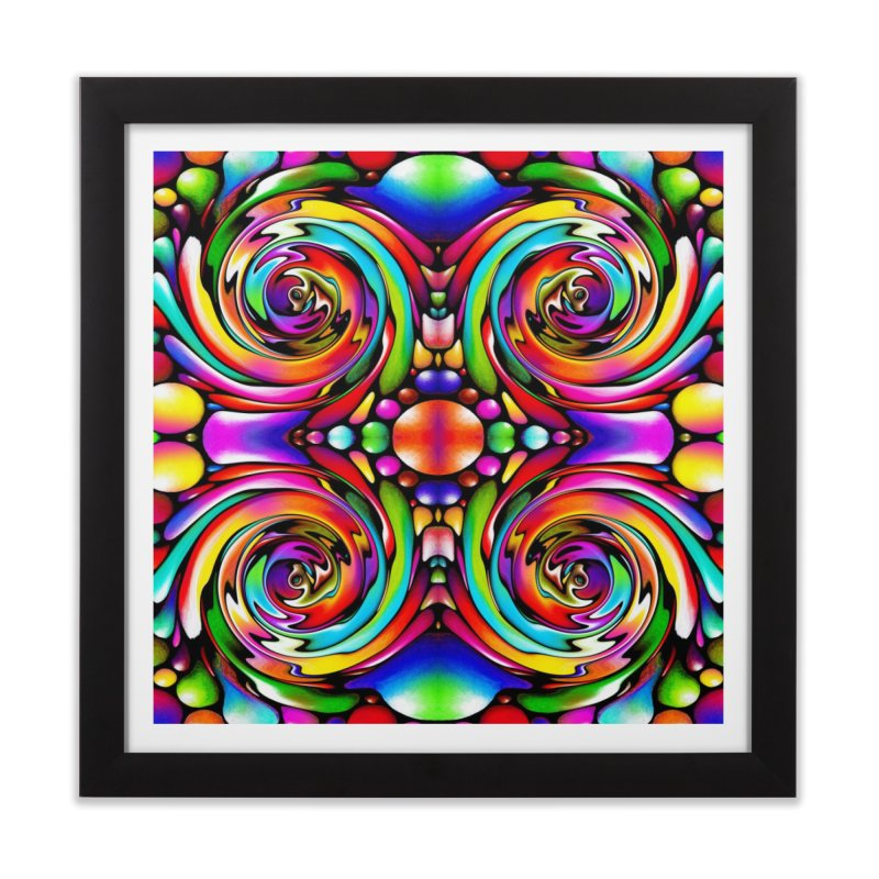 Psychedelia Home Framed Fine Art Print by Allison Low Art