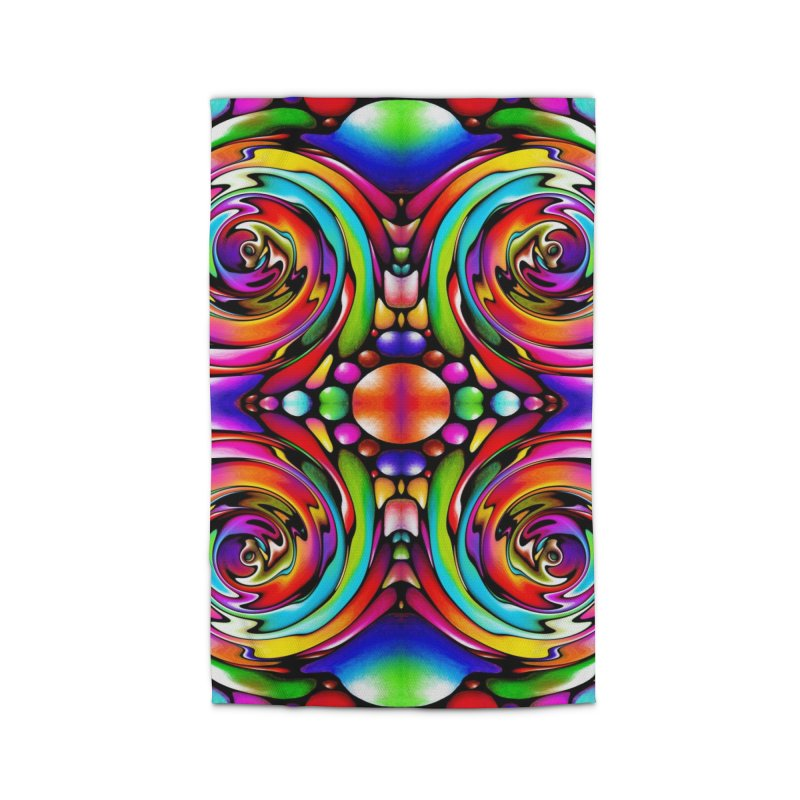 Psychedelia Home Rug by Allison Low Art