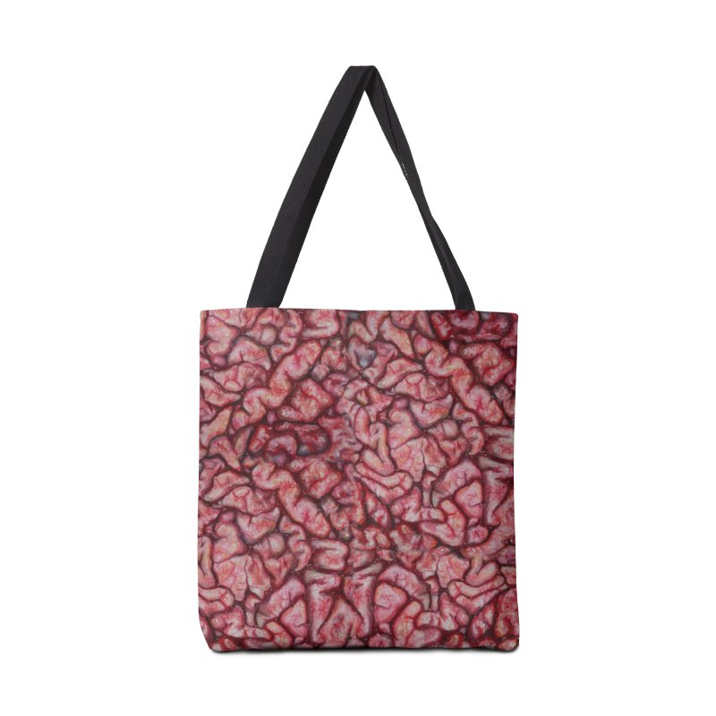 Brainz Accessories Bag by Allison Low Art