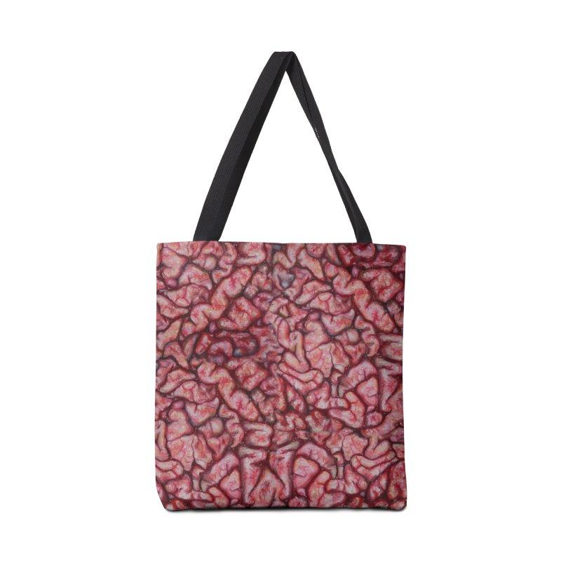 Brainz Accessories Bag by Allison Low Art