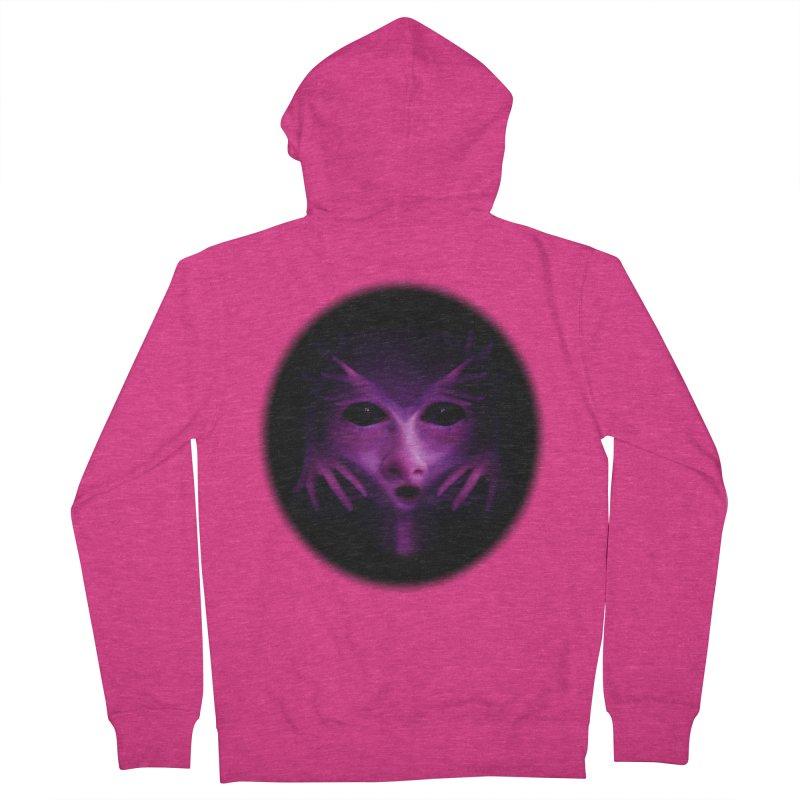 Violet Alien Women's Zip-Up Hoody by Allison Low Art