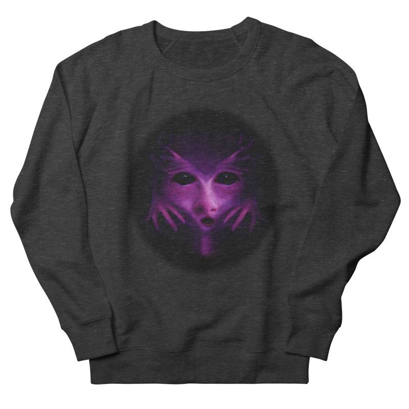 Violet Alien Women's French Terry Sweatshirt by Allison Low Art