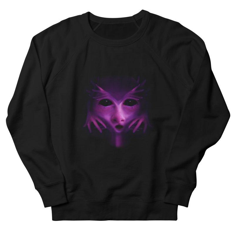 Violet Alien Women's Sweatshirt by Allison Low Art