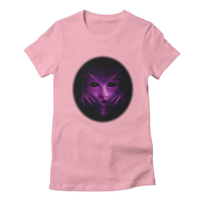 Violet Alien   by Allison Low Art