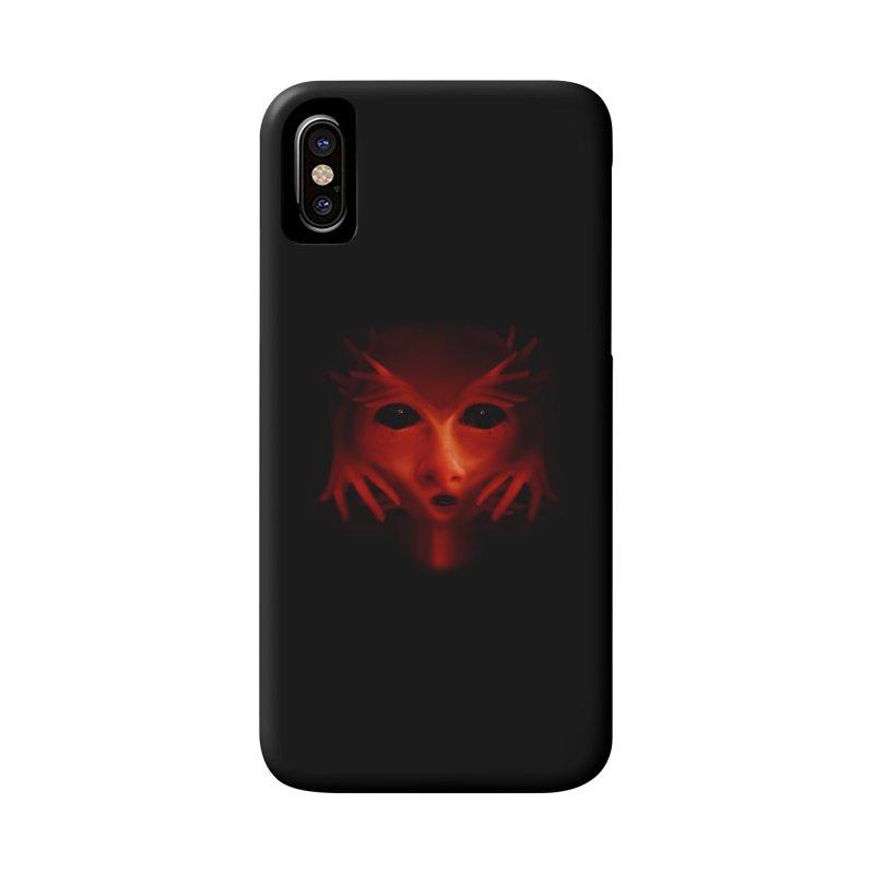 Alien Devil Accessories Phone Case by Allison Low Art